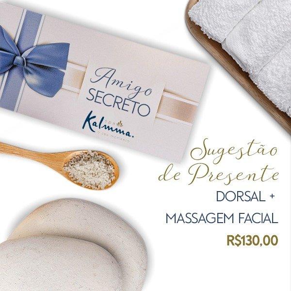 Dorsal + Massagem Facial 1