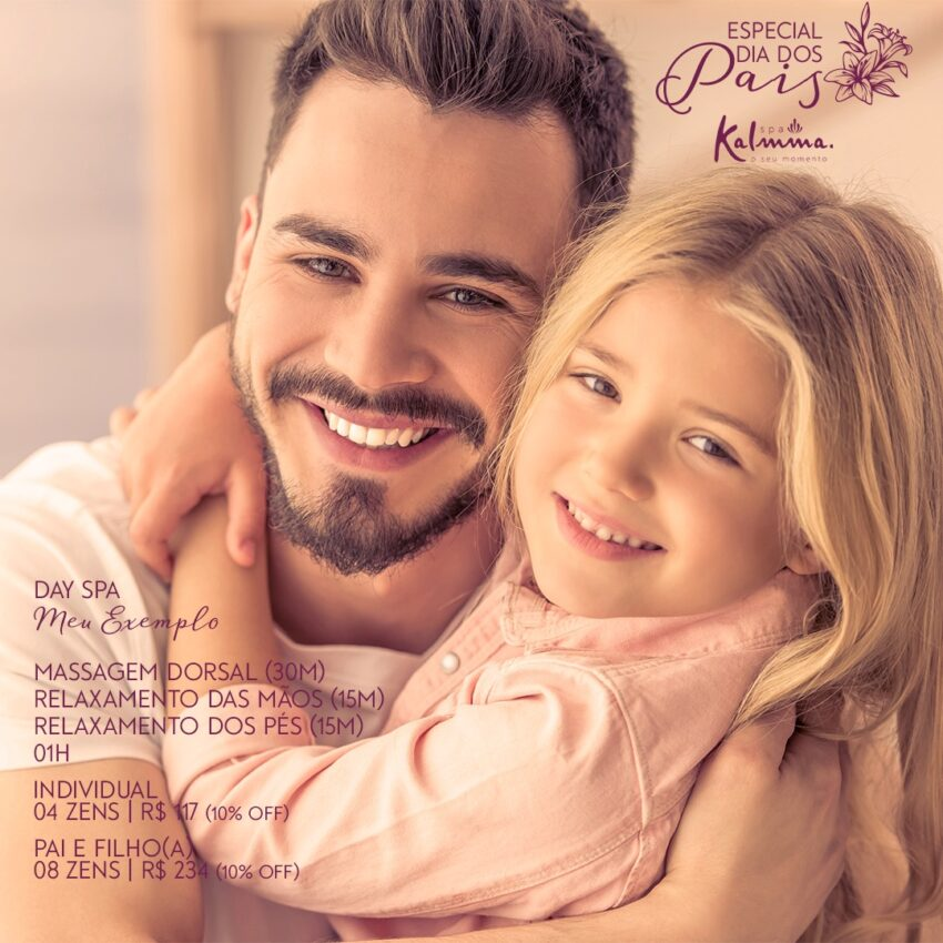 Day Spa - Meu Exemplo - Pai e Filho/a 1